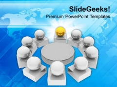 Business Meeting Teamwork PowerPoint Templates Ppt Backgrounds For Slides 0413