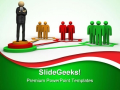 Business Network Communication PowerPoint Themes And PowerPoint Slides 0411