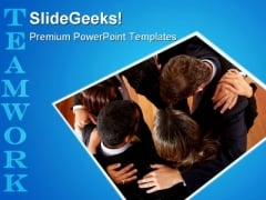 Business Office Teamwork Success PowerPoint Templates And PowerPoint Backgrounds 0511