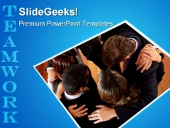 Business Office Teamwork Success PowerPoint Themes And PowerPoint Slides 0511