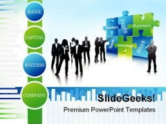 Business People Success PowerPoint Themes And PowerPoint Slides 0711