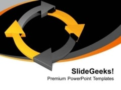 Business Process Lifecycle PowerPoint Templates Ppt Backgrounds For Slides 0213