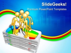 Business Report Finance PowerPoint Themes And PowerPoint Slides 0711