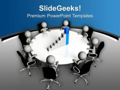 Business Results Discussion For Growth PowerPoint Templates Ppt Backgrounds For Slides 0613