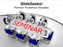 Business Seminar Meeting Representation PowerPoint Templates Ppt Backgrounds For Slides 0313