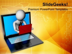 Business Should Based On Technology PowerPoint Templates Ppt Backgrounds For Slides 0613