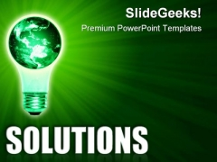 Business Solutions Global PowerPoint Templates And PowerPoint Backgrounds 0611
