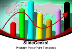 Business Statistics Global PowerPoint Templates And PowerPoint Backgrounds 0811