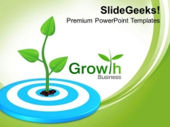 Business Strategy For Targetting Growth PowerPoint Templates Ppt Backgrounds For Slides 0313