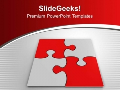 Business Strategy In Form Of Puzzles PowerPoint Templates Ppt Backgrounds For Slides 0413