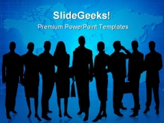 Business Team01 Global PowerPoint Templates And PowerPoint Backgrounds 0711