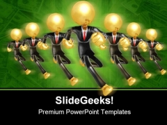 Business Team Leadership PowerPoint Templates And PowerPoint Backgrounds 0611