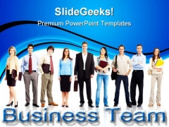 Business Team People PowerPoint Templates And PowerPoint Backgrounds 1011