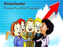 Business Team Success PowerPoint Templates And PowerPoint Backgrounds 1011