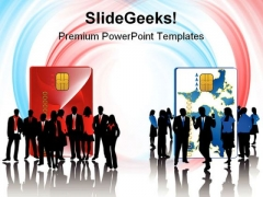 Business Teams People PowerPoint Template 1010