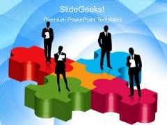 Business Teamwork Business PowerPoint Templates And PowerPoint Themes 0212