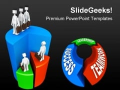 Business Teamwork Success PowerPoint Templates And PowerPoint Backgrounds 0211