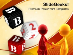 Business To Business Handshake PowerPoint Templates Ppt Backgrounds For Slides 0313