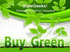 Buy Green Environment PowerPoint Templates And PowerPoint Themes 0412