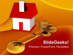 Buying A Home Real Estate Business PowerPoint Templates And PowerPoint Themes 1012