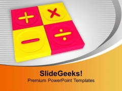 Calculate All Risks Of Business PowerPoint Templates Ppt Backgrounds For Slides 0513