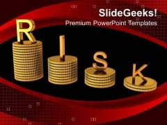 Calculate The All Risk In Buisness PowerPoint Templates Ppt Backgrounds For Slides 0413