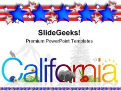 California Americana PowerPoint Themes And PowerPoint Slides 0211