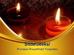 Candles02 Festival PowerPoint Templates And PowerPoint Backgrounds 0411