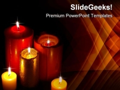 Candles02 Festival PowerPoint Themes And PowerPoint Slides 0511