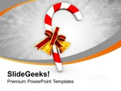 Candy For This Christmas PowerPoint Templates Ppt Backgrounds For Slides 0513