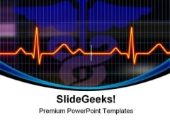 Cardiogram Science PowerPoint Templates And PowerPoint Backgrounds 0511