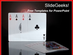 Playing Cards PowerPoint Template