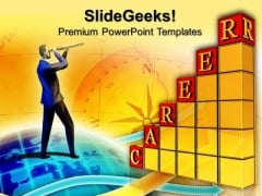 Career Growth Future PowerPoint Templates And PowerPoint Themes 0812
