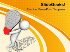 Carry The Load Of Your Innovation PowerPoint Templates Ppt Backgrounds For Slides 0813
