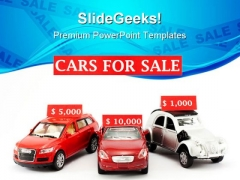 Cars For Sale Marketing PowerPoint Themes And PowerPoint Slides 0511