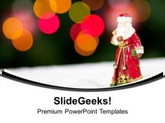 Celebrate Christmas With Your Family PowerPoint Templates Ppt Backgrounds For Slides 0513