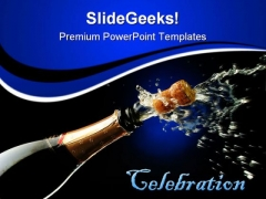 Celebration Success PowerPoint Templates And PowerPoint Backgrounds 0711
