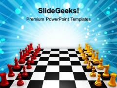 Challenge Business PowerPoint Templates And PowerPoint Themes 1012