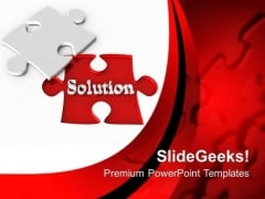 Challenge To Solve The Business Strategy PowerPoint Templates Ppt Backgrounds For Slides 0513
