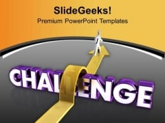 Challenge Your Knowledge For Success PowerPoint Templates Ppt Backgrounds For Slides 0613