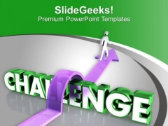 Challenge Yourself With New Tasks PowerPoint Templates Ppt Backgrounds For Slides 0613