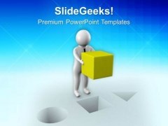 Challenging Task Business Concept PowerPoint Templates Ppt Backgrounds For Slides 0613