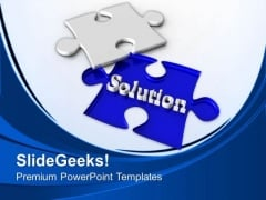 Challenging Task To Find The Solution PowerPoint Templates Ppt Backgrounds For Slides 0513
