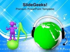 Change In Music World PowerPoint Templates Ppt Backgrounds For Slides 0413