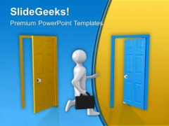 Change The Way To Get Success PowerPoint Templates Ppt Backgrounds For Slides 0413