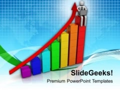 Check The Sales And Growth Graph PowerPoint Templates Ppt Backgrounds For Slides 0813