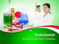 Chemical Research Laboratory Medical PowerPoint Templates And PowerPoint Backgrounds 0611
