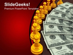 Chess And Money Investment PowerPoint Templates And PowerPoint Themes 1012