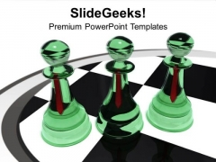 Chess Improve The Brain Power PowerPoint Templates Ppt Backgrounds For Slides 0713