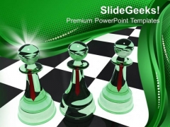 Chess Is A Very Intelligent Game PowerPoint Templates Ppt Backgrounds For Slides 0713
